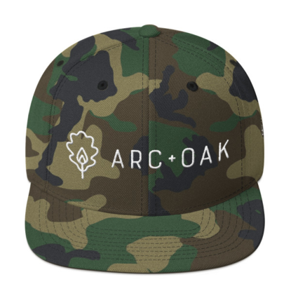 Picture of A+O Snapback Hat (Camo)