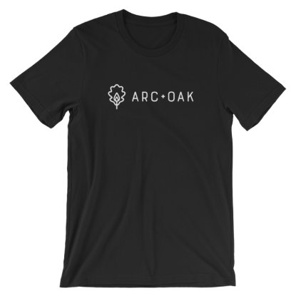 Picture of A+O Horizontal Logo T-Shirt (Black)