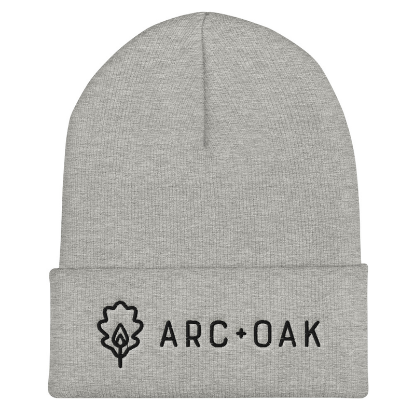 Picture of A+O Cuffed Beanie (Grey)